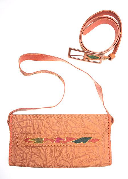 f5030ca1af23 Комплект из ремня и сумки (Кожа, вышивка, металл) Авторская работа Авторская  работа Дизайн-студия